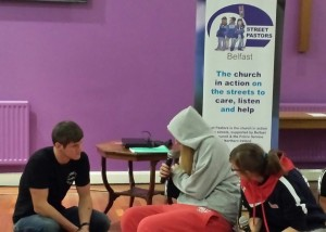 Students role play