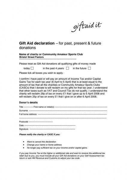 Bristol-Street-Pastors-Gift-aid-form