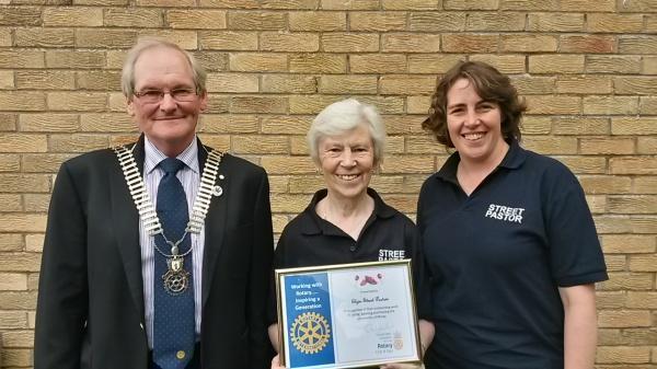 2016-6-23 Rotary award