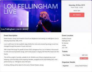 Lou Fellingham Live