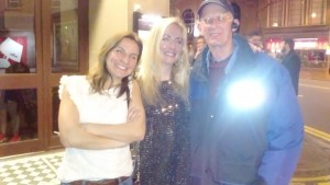 Phil M daughter + friend