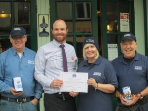 April 2014 - Sugar Loaf customers raise £500 for our work