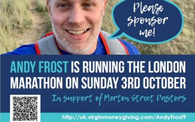 Andy Frost running the London Marathon and raising funds – Please can you sponsor him?