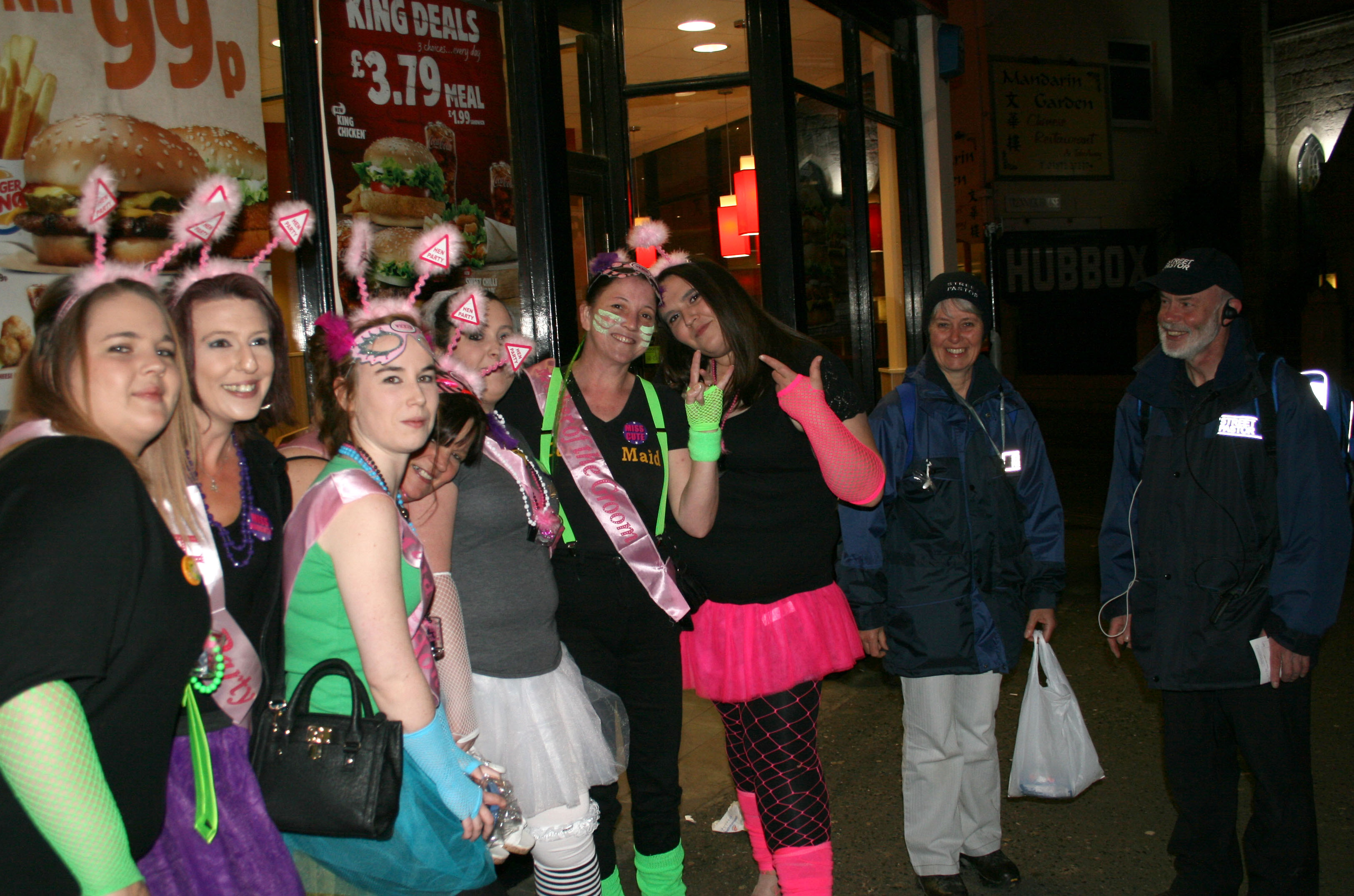 Happy Hen Party Group - May 2015