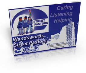 Click the image to download a PDF of the Wandsworth Street Pastors Brochure (3MB)